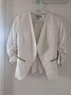 White size small H&M blazer