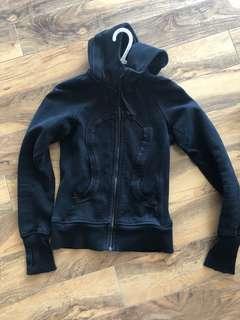 Black Lululemon hoody size small