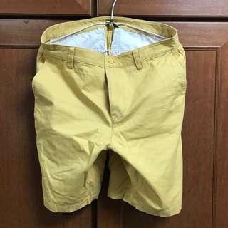 Net 黃色短褲