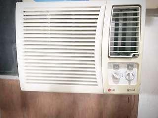 Lg window type aircon