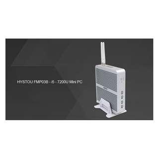 Hystou FMP03B Mini PC Windows 10 Intel Core i5-7200U CPU 16GB RAM 256GB ROM
