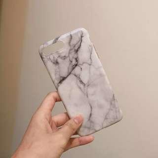 I6 I6+ I7+ I8 大理石質感霧面手機殼