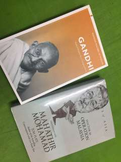 Gandhi / Mahathir