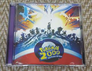 Pokemon The Movie 2000 The Power Of One OST CD