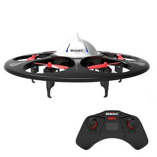 UDI RC U845 Voyager UFO RC Drone with 720P HD Camera RC Quadcopter for Beginners with One Key Return and Headless Mode