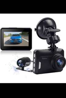 """SALE❗️ODRVM Full HD 1080P Vehicle Dash Cam Front and Rear Dashboard Camera Dual Lens Car Video Recorder With 2.7"""" TFT LCD 140 Degree Wide Angle & Night Vision G-Sensor and Motion Detection Car Driving Recorder"""