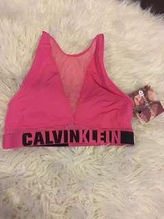 BNWT Calvin Klein Mesh Bra Size Small!!