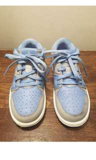 Nike Jordan blue toddler shoes 11c