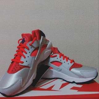 🚚 Nike 武士鞋 (粉橘/太空銀)