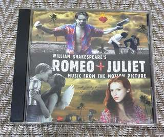 William Shakespeare's Romeo + Juliet OST CD