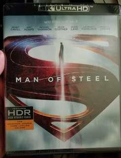 4K blu ray man of steel 美版 全新