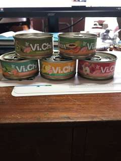 vichi維齊水果狗罐80g