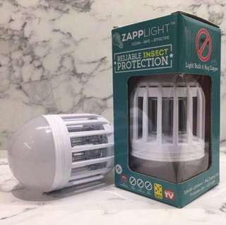 Zapplight Mosquito Repellant & LED Light Bulb