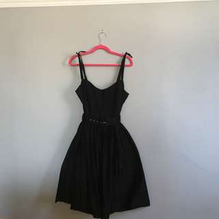 Collectif London, Vintage-Inspired Fit and Flare Cocktail Dress XL