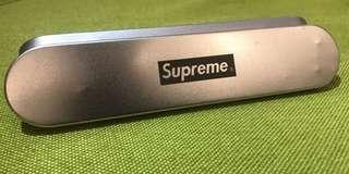 Random Discount! Supreme Brass Metal Ink Pen With Box