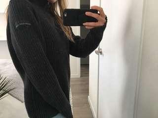 Vintage CALVIN KLEIN Half-zip Sweater