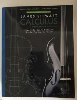 James Stewart Calculus 8th edition