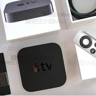 出清 Apple TV3 TV 3 MD199LL/A  超值機種 光纖輸出 Airplay 1080P 台灣公司貨