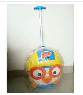 Pororo original travel luggage tas koper anak