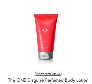 The one disguise parfume body lotion
