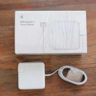 Apple 85W MagSafe 2 電源轉換器 盒裝公司貨 大豆腐 變壓器