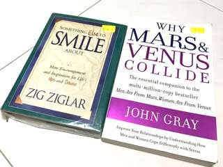 Mars and Venus, SMILE (BOTH FOR $5 ONLY!)