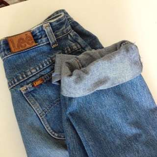 Lee Brand Boyfriend Jeans