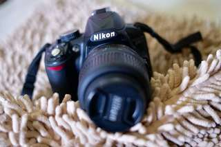 (NEGO) NIKON D3100 BOX SET LENGKAP + LENSA KIT + WIDE
