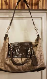 Coach Brown Hand Bag