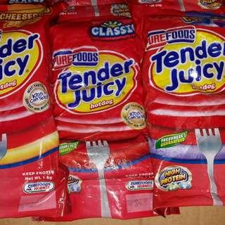 Tender juicy hotdogs😄