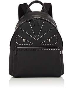 Fendi Selleria Metal Stitch Monster Eyes Backpack