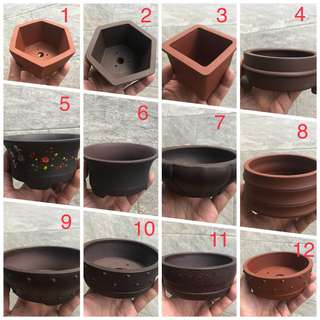 Zisha pot various design