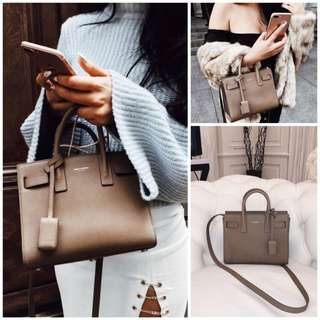 Authentic Saint Laurent Sac De Jour Nano