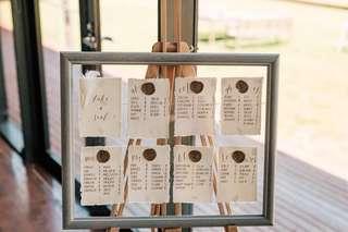 Wedding Table Chart