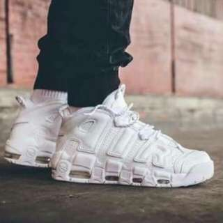 Nike Air Up Tempo all white