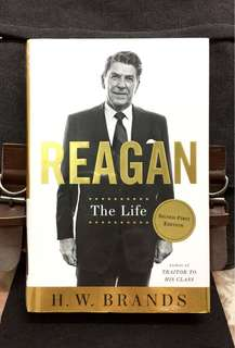 # Highly Recommended《Bran-New + Signed First Hardcover Edition + Ronald Reagan Biography》H.W.Brands - REAGAN : The Life