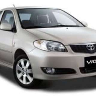 Toyota Vios 2003-2007 Magnetic Carshades