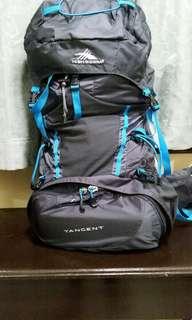 Hiking bag 45l .brand high sierra