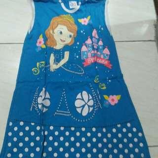 Dress kutung anak SOFIA