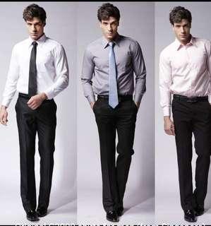 BN G2000 long sleeve formal wear (white) 50% OFF