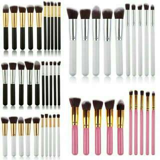 Kabuki 10pcs brush set