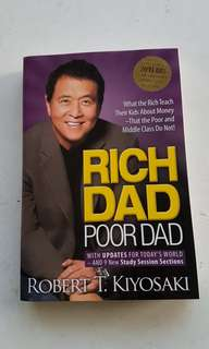 Rich Dad Poor Dad with updates for today's world and 9 new study session sections