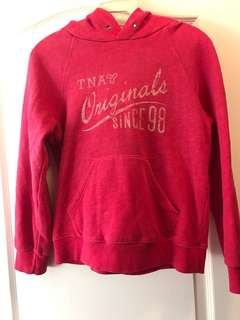 tna aritzia size small hoodie