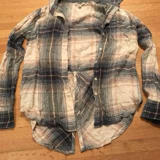 cute button down flannel