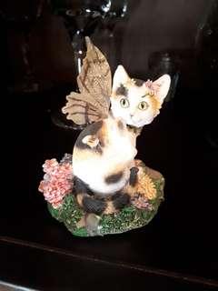 Tessa cat fairy figurine