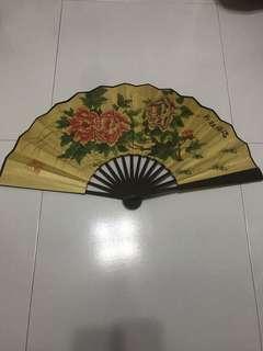 Peony 福 fan