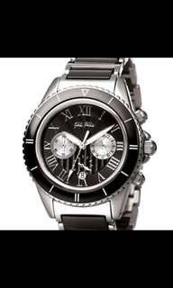 Folli Follie ladies ceramic sport chronograph watch