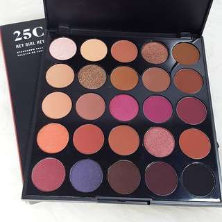 💯 Genuine Morphe 25c hey girl hey Palette