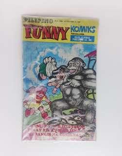 Pilipino Funny Komiks (Tinay Pinay Cover)