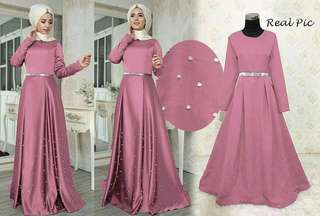 119668 GAMIS PESTA MASERATI PINK by PGMS Collections